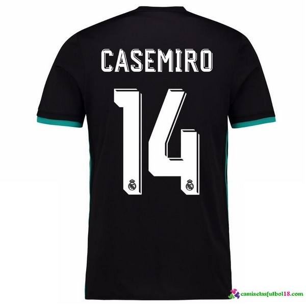Casamiro Camiseta 2ª Kit Real Madrid 2017 2018
