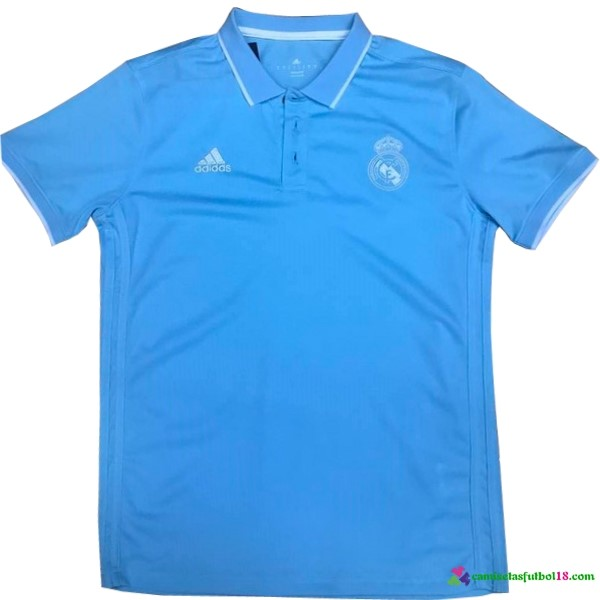 Polo Del Real Madrid 2017 2018 Azul