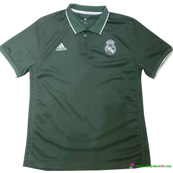 Polo Del Real Madrid 2017 2018 Verde