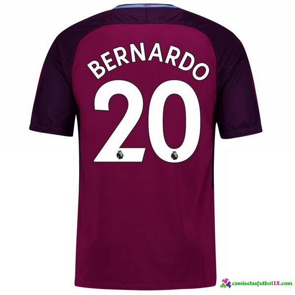 Bernardo Camiseta 2ª Kit Manchester City 2017 2018