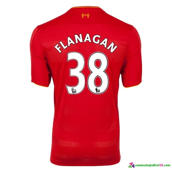 Flanagan Camiseta 1ª Kit Liverpool 2016 2017