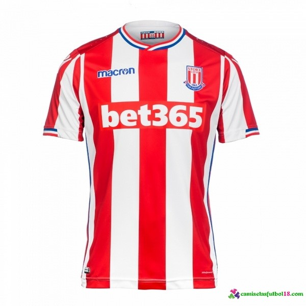 Camiseta 1ª Kit Stoke City 2017 2018