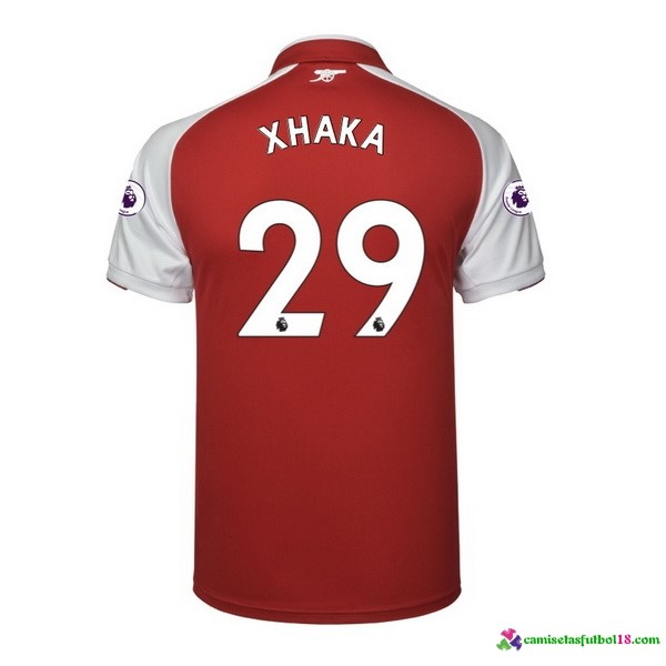 Xhaka Camiseta 1ª Kit Arsenal 2017 2018