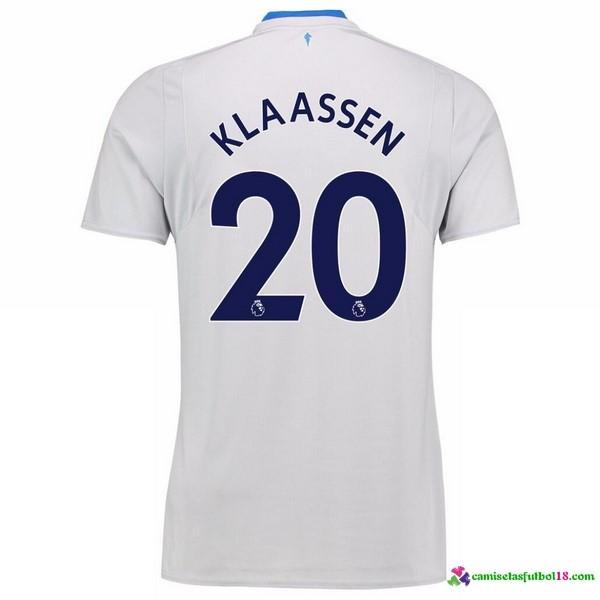 Klaassen Camiseta 2ª Kit Everton 2017 2018