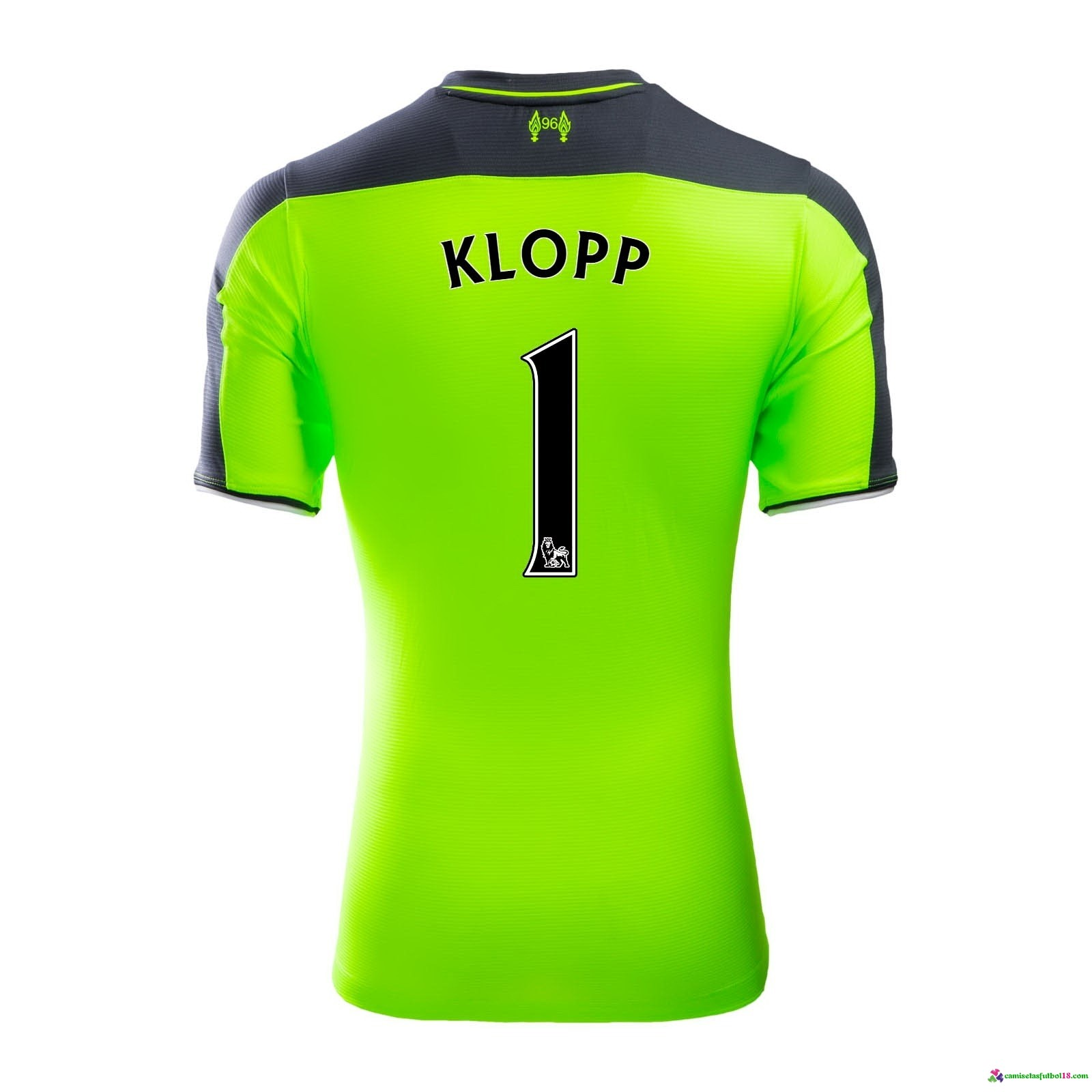 Klopp Camiseta 3ª Kit Liverpool 2016 2017