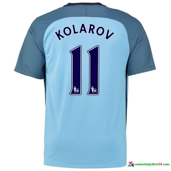 Kolarov Camiseta 1ª Kit Manchester City 2016 2017