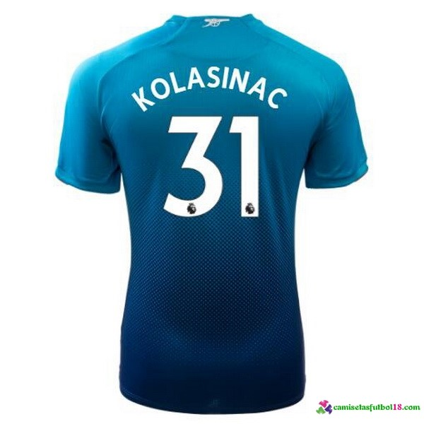 Kolasinac Camiseta 2ª Kit Arsenal 2017 2018