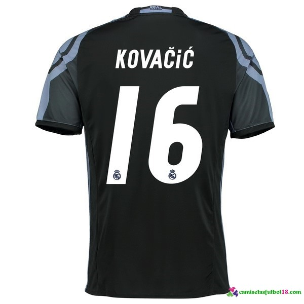 Kovacic Camiseta 3ª Kit Real Madrid 2016 2017