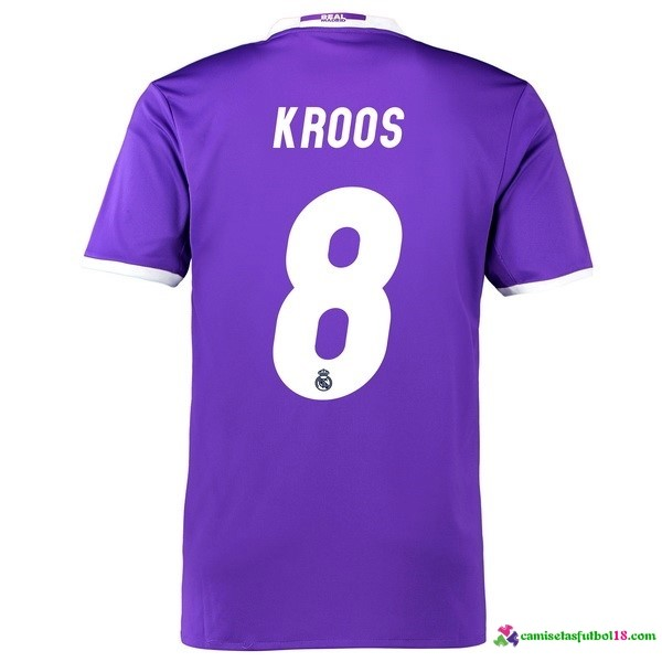 Kroos Camiseta 2ª Kit Real Madrid 2016 2017