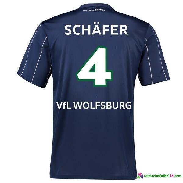 Schafer Camiseta 3ª Kit Wolfsburg 2016 2017