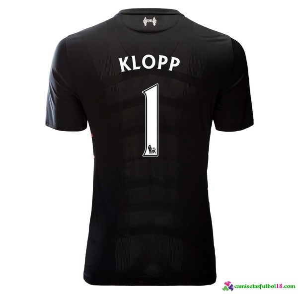 Klopp Camiseta 2ª Kit Liverpool 2016 2017
