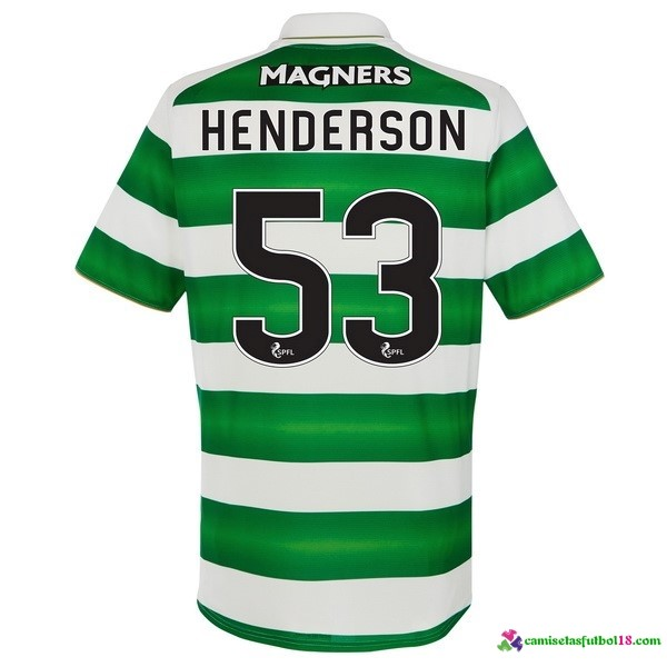 Henderson Camiseta 1ª Kit Celtic 2016 2017