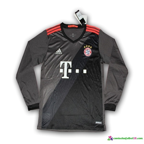 Camiseta 2ª Kit ML Bayern Munich 2016 2017