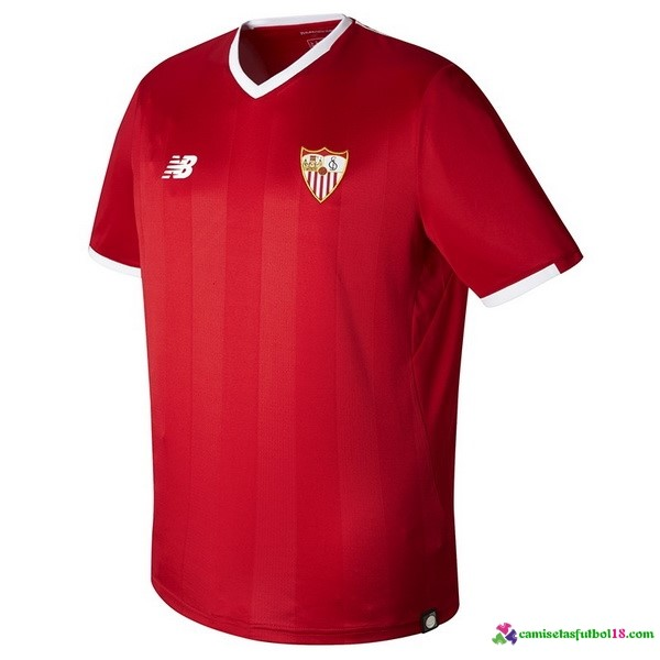 Camiseta 2ª Kit Sevilla 2017 2018