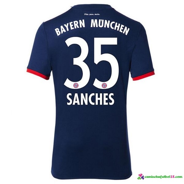 Sanches Camiseta 2ª Kit Bayern Munich 2017 2018