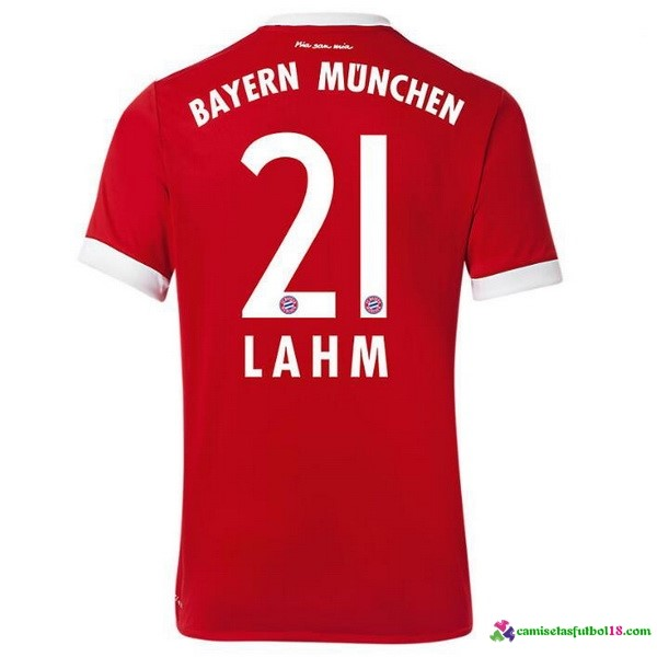 Lahm Camiseta 1ª Kit Bayern Munich 2017 2018