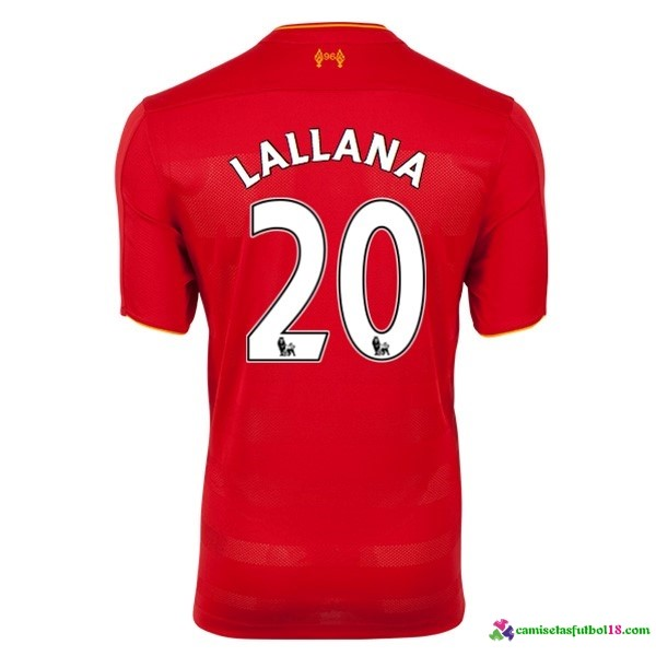 Lallana Camiseta 1ª Kit Liverpool 2016 2017