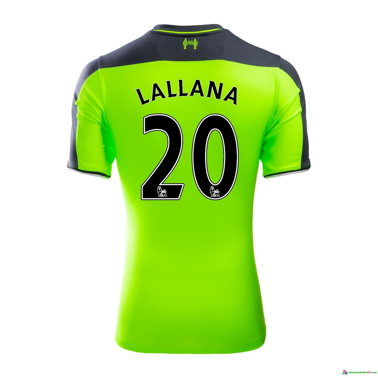 Lallana Camiseta 3ª Kit Liverpool 2016 2017