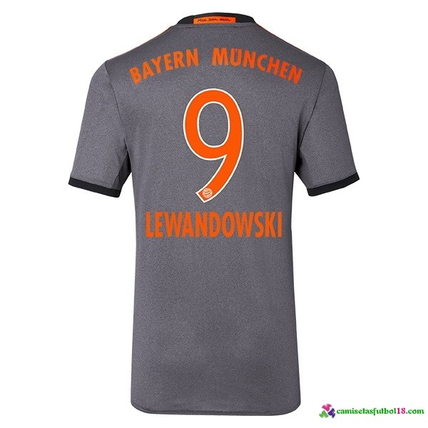 Lewandowski Camiseta 2ª Kit Bayern Munich 2016 2017