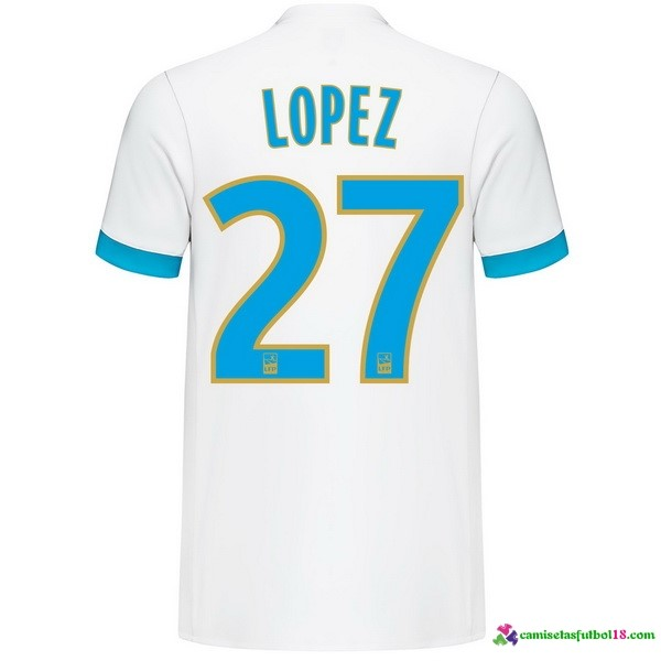 Lopez Camiseta 1ª Kit Marsella 2017 2018