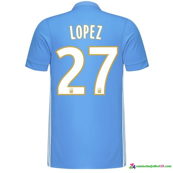 Lopez Camiseta 2ª Kit Marsella 2017 2018