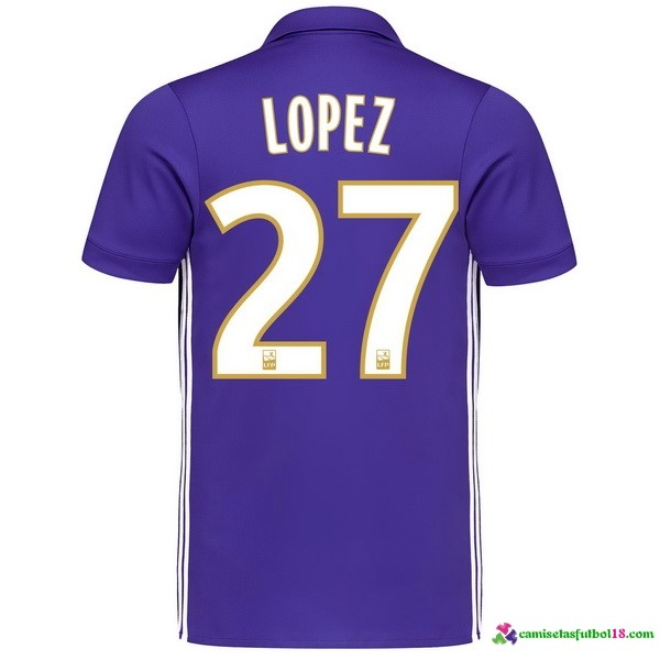 Lopez Camiseta 3ª Kit Marsella 2017 2018