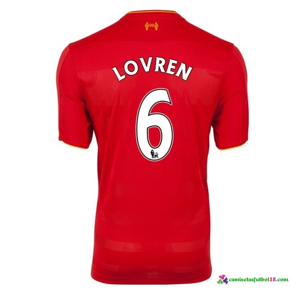 Lovren Camiseta 1ª Kit Liverpool 2016 2017