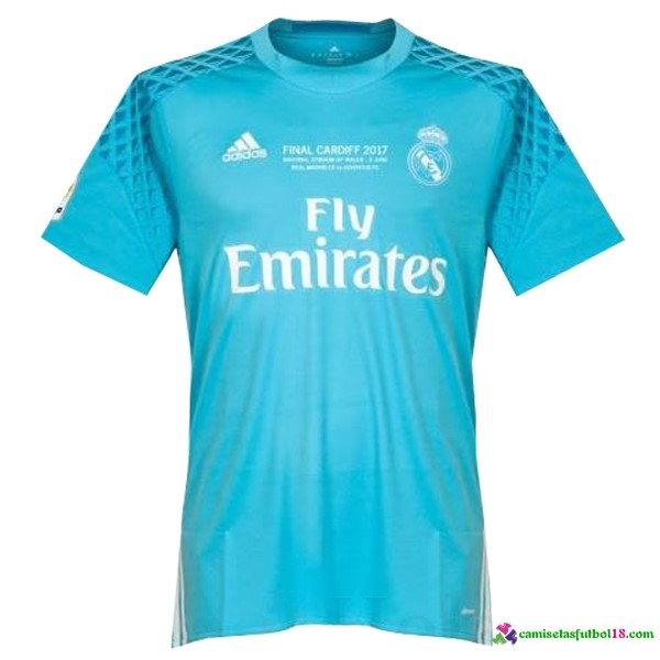 1ª Kit Portero Camiseta Real Madrid Final Cardiff 2017