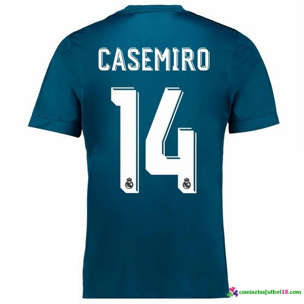 Casamiro Camiseta 3ª Kit Real Madrid 2017 2018