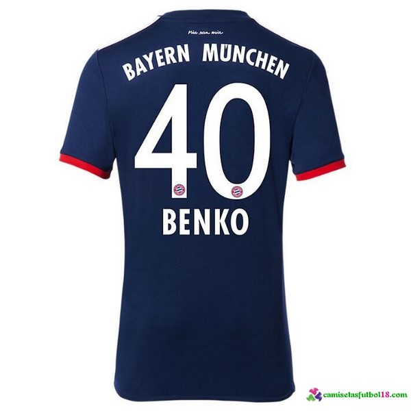 Benko Camiseta 2ª Kit Bayern Munich 2017 2018