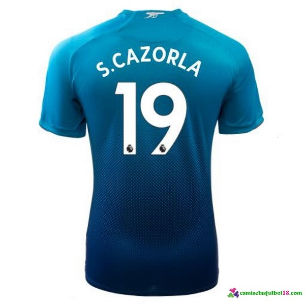 S.Cazorla Camiseta 2ª Kit Arsenal 2017 2018