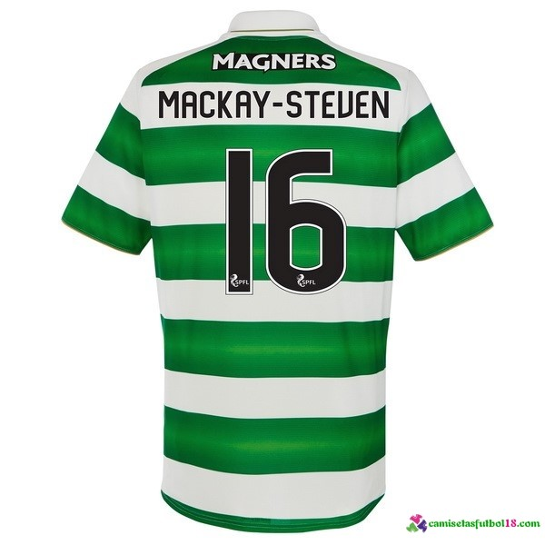 Mackay Steuen Camiseta 1ª Kit Celtic 2016 2017