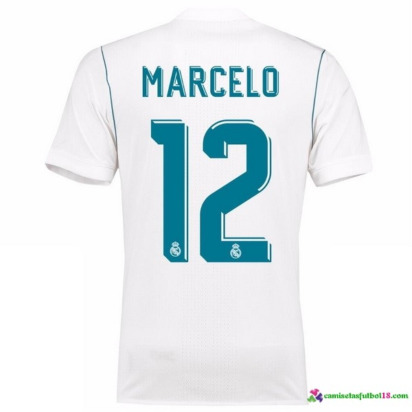 Marcelo Camiseta 1ª Kit Real Madrid 2017 2018