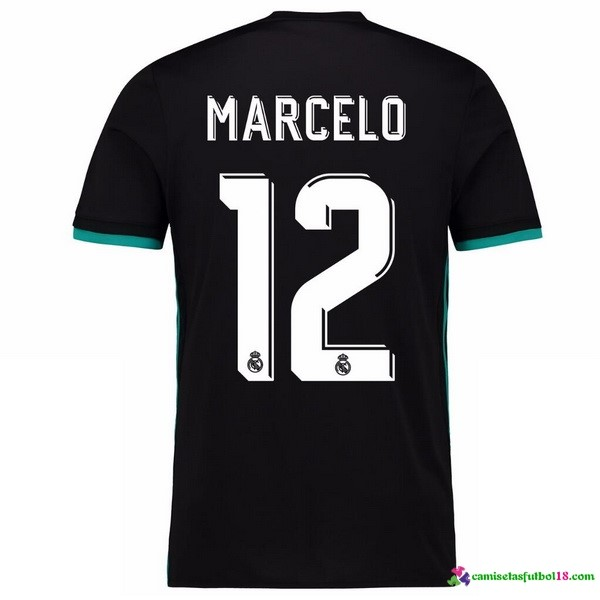 Marcelo Camiseta 2ª Kit Real Madrid 2017 2018