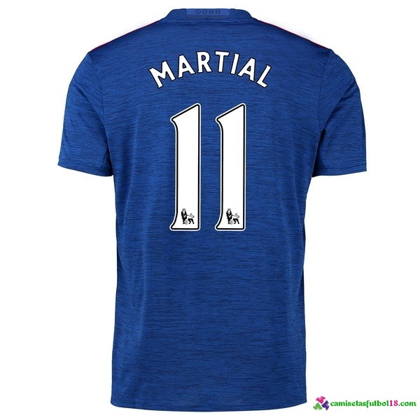 Martial Camiseta 2ª Kit Manchester United 2016 2017