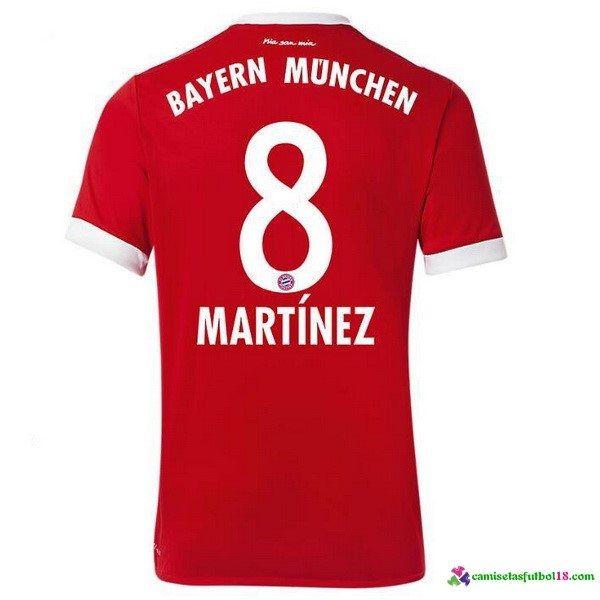 Martinez Camiseta 1ª Kit Bayern Munich 2017 2018