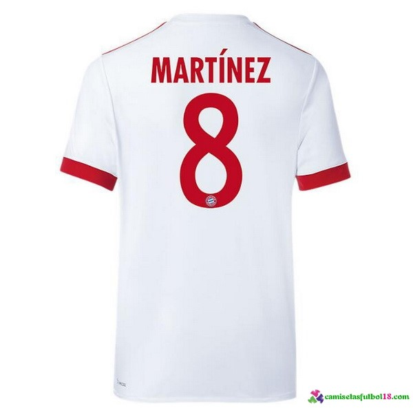 Martinez Camiseta 3ª Kit Bayern Munich 2017 2018