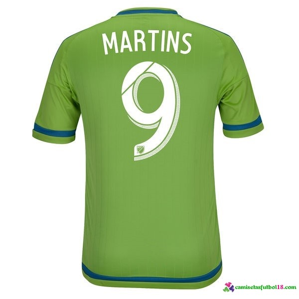 Martins Camiseta 1ª Kit Seattle Sounders 2016 2017