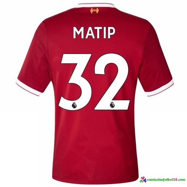 Matip Camiseta 1ª Kit Liverpool 2017 2018