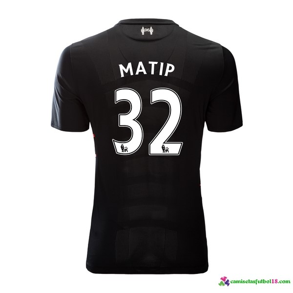 Matip Camiseta 2ª Kit Liverpool 2016 2017