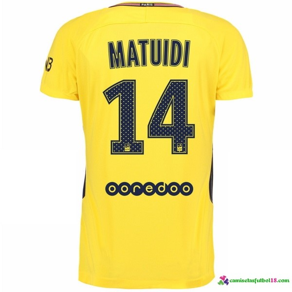 Matuidi Camiseta 2ª Kit Paris Saint Germain 2017 2018