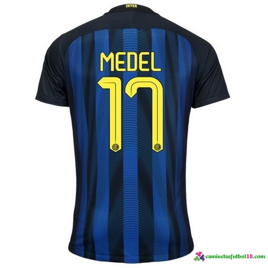 MeCamiseta 1ª Kit Inter Milan 2016 2017