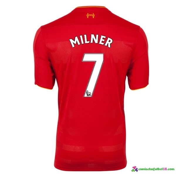 Milner Camiseta 1ª Kit Liverpool 2016 2017