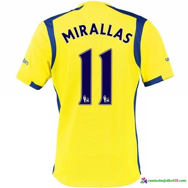 Mirallas Camiseta 3ª Kit Everton 2016 2017