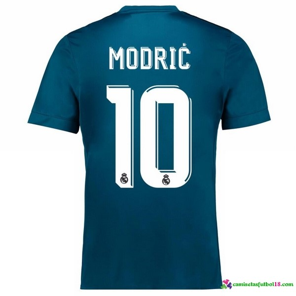 Modric 10Camiseta 3ª Kit Real Madrid 2017 2018