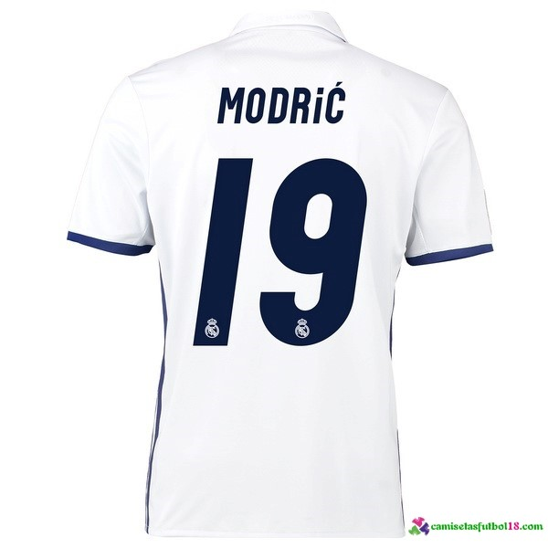 Modric Camiseta 1ª Kit Real Madrid 2016 2017