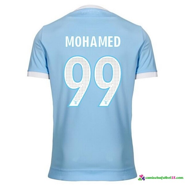 Mohamed Camiseta 1ª Kit Lazio 2017 2018