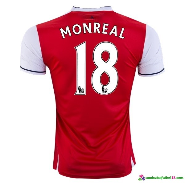 Monreal Camiseta 1ª Kit Arsenal 2016 2017