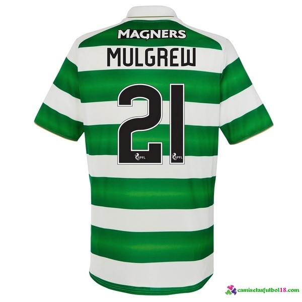 Mulgrew Camiseta 1ª Kit Celtic 2016 2017