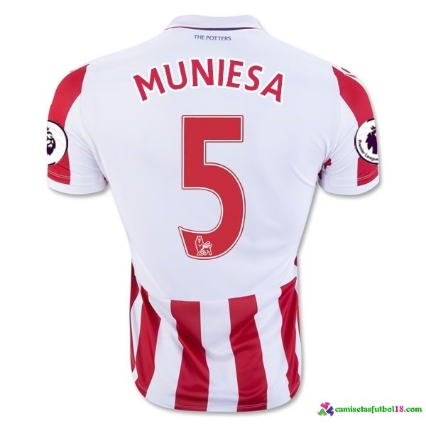 Muniesa Camiseta 1ª Kit Stoke City 2016 2017